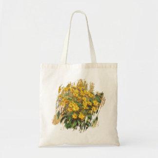 Monet's Jerusalem Artichokes Tote Bag