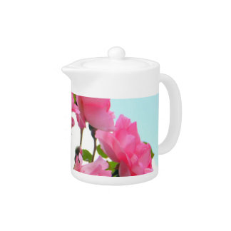 """""""Monet's Rose Garden"""" Container Teapot"""