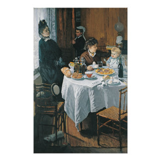 Monet's The Luncheon Poster