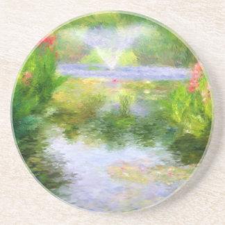 Monet's Water Garden Coasters