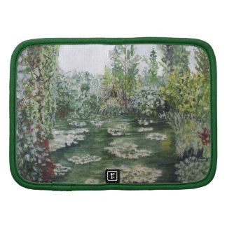 Monet's Waterlily Pond Giverny Folio Planners
