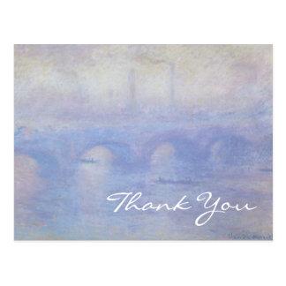 Monet's Waterloo Bridge Postcard