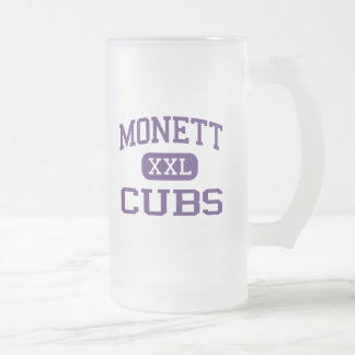 Monett - Cubs - High School - Monett Missouri 16 Oz Frosted Glass Beer Mug