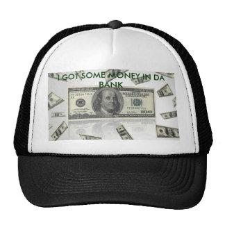 money_100_dollars_bills-other, I GOT SOME MONEY... Trucker Hat