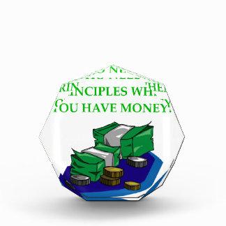 MONEY ACRYLIC AWARD