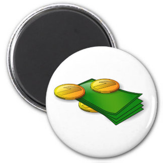 Money and Coins Magnet