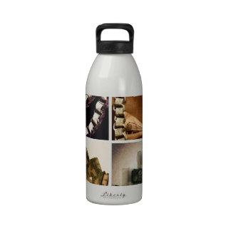Money Art Water Bottle