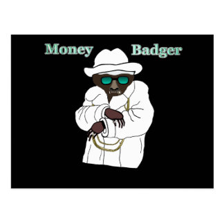 Money Badger Postcard