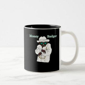 Money Badger Two-Tone Coffee Mug