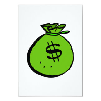 Money Bag Card