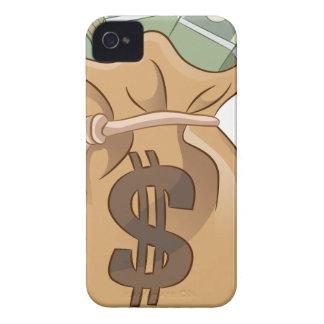 Money Bag Cartoon Icon Case-Mate iPhone 4 Case