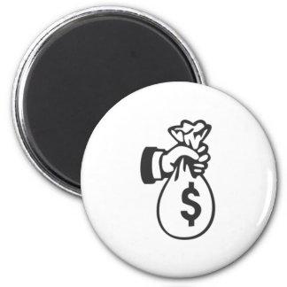 Money Bag Magnet