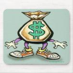 Money Bag Mouse Pad