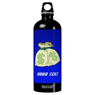 Money Bags; Blue SIGG Traveler 1.0L Water Bottle