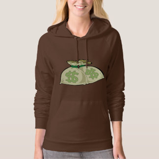 Money Bags; Cute Hooded Pullover