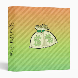 Money Bags design Binder