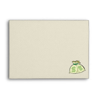 Money Bags design Envelopes