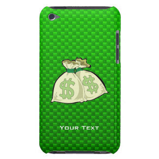 Money Bags; Green Barely There iPod Cover