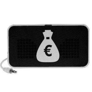 Money Bags Pictogram Doodle Speaker