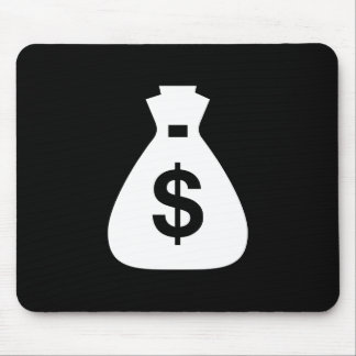 Money Bags Pictogram Mousepad