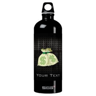Money Bags; Rugged Aluminum Water Bottle
