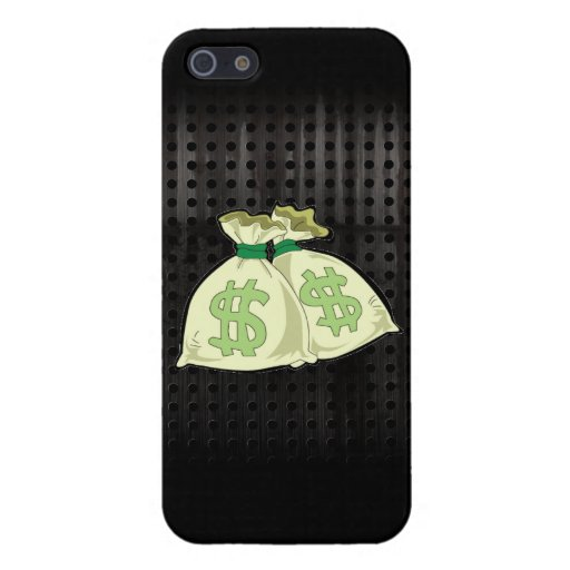 Money Bags; Rugged iPhone 5 Cover