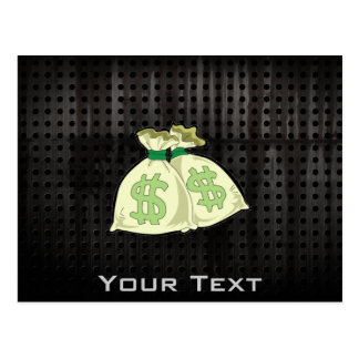 Money Bags; Rugged Post Cards