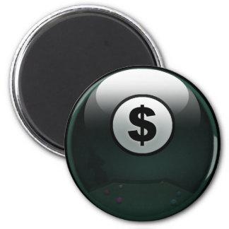 Money Ball 2 Inch Round Magnet