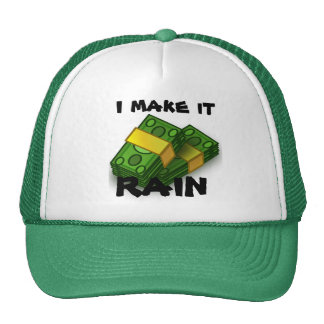 money baseball cap trucker hat