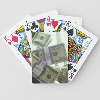MONEY BICYCLE PLAYING CARDS