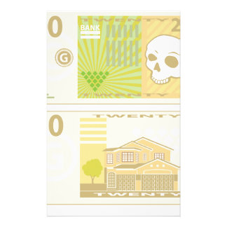 Money Bill Stationery