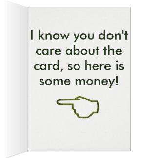 Money Birthday Card 2
