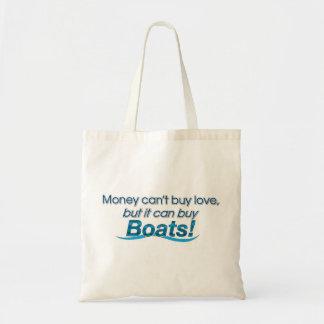 Money & Boats Canvas Bag