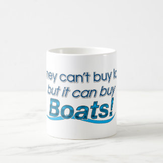Money & Boats Coffee Mug