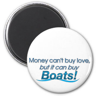 Money & Boats Magnet