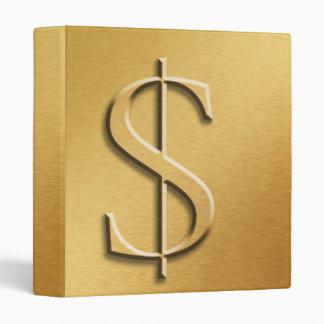 Money Book 3 Ring Binders