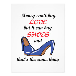 Money Can Buy Shoes Letterhead
