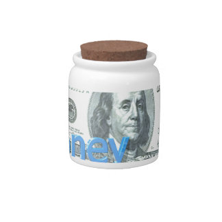 Money Candy Jars