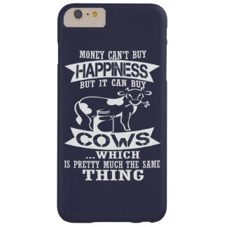 Money can't buy happiness barely there iPhone 6 plus case