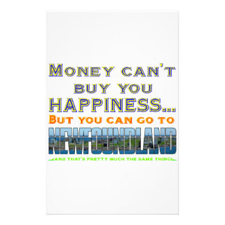 MONEY CAN'T BUY YOU HAPPINESS STATIONERY