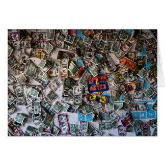 Money Stationery Note Card