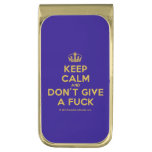 [Dancing crown] keep calm and don't give a fuck  Money Clip