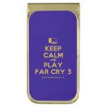 [Computer] keep calm and play far cry 3  Money Clip