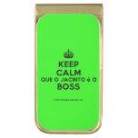 [Crown] keep calm que o jacinto é o boss  Money Clip