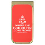 [Crown] keep calm and where the fuck did you come from?!  Money Clip