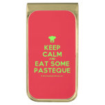 [Chef hat] keep calm and eat some pasteque  Money Clip