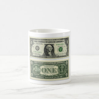 money coffee mug