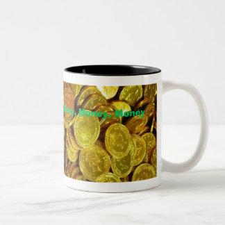 """Money"" coffee mug by Zoltan Buday"