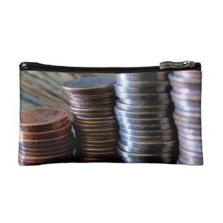 Money Coins Makeup Bags