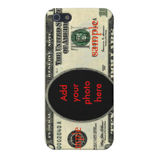 Money currency 10 dollars ten dollar note US$ $ iPhone 5 Cover